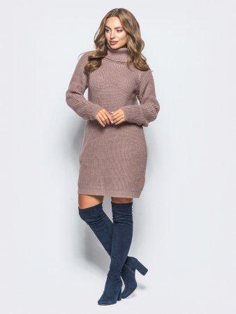 Платье-свитер: встречаем холода элегантно!